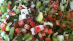 A close-up of my Pepper Melody. A little blurry, sorry!